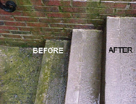 Powerwashing can restore wood privacy fences, concrete, wood houses, lawn furniture, wood decks to new condition!